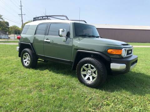 2014 Toyota FJ Cruiser for sale at MARK CRIST MOTORSPORTS in Angola IN