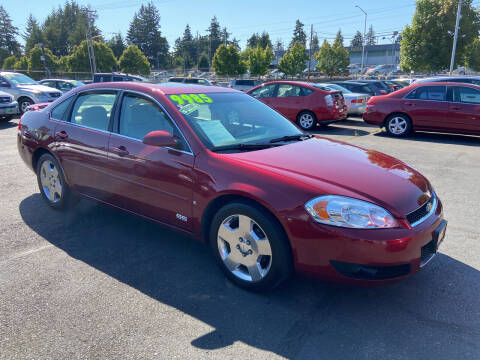 2007 Chevrolet Impala for sale at Pacific Point Auto Sales in Lakewood WA