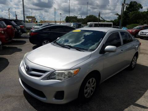 2013 Toyota Corolla for sale at P S AUTO ENTERPRISES INC in Miramar FL
