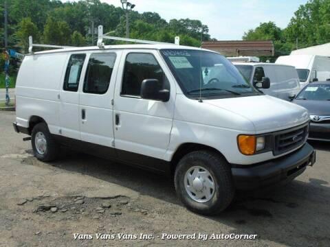2003 Ford E-Series Cargo for sale at Vans Vans Vans INC in Blauvelt NY
