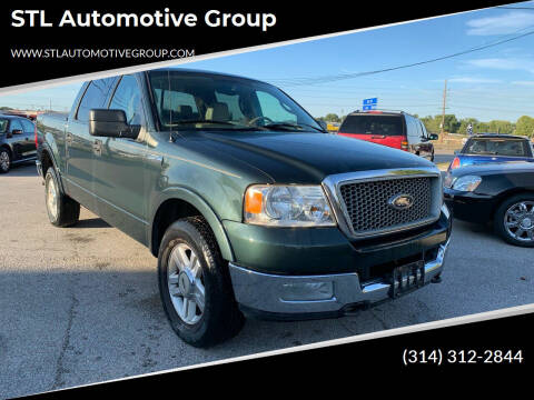 2004 Ford F-150 for sale at STL Automotive Group in O'Fallon MO