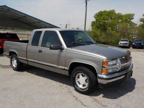 1998 GMC Sierra 1500 for sale at C & C MOTORS in Chattanooga TN