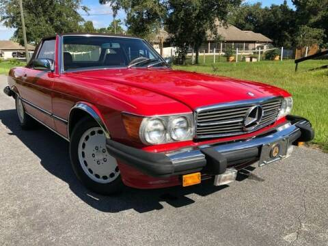 1988 Mercedes-Benz 560-Class for sale at A7 AUTO SALES in Daytona Beach FL