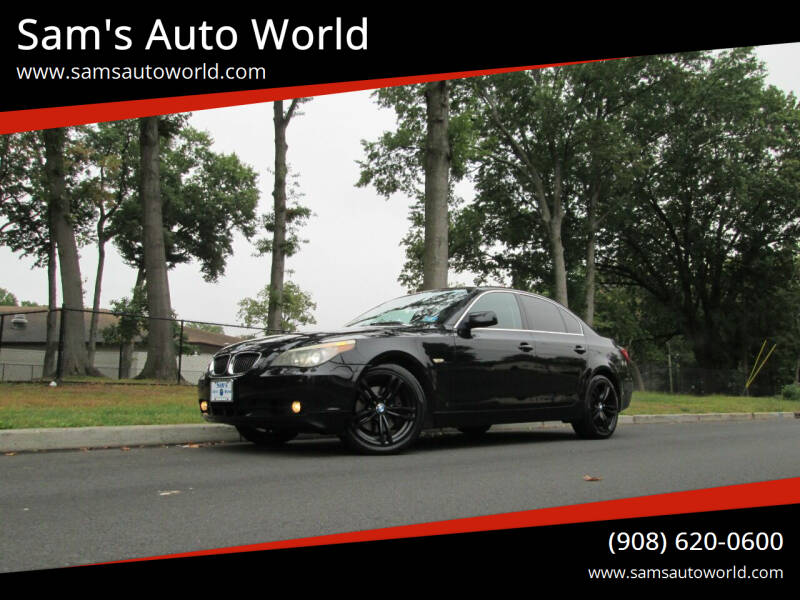 2006 BMW 5 Series for sale at Sam's Auto World in Roselle NJ
