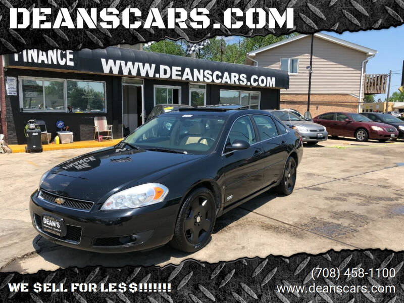 2007 Chevrolet Impala for sale at DEANSCARS.COM in Bridgeview IL