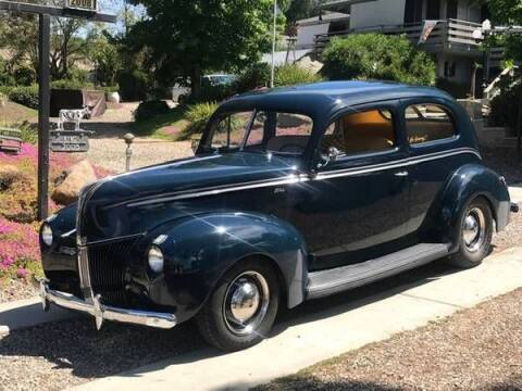 1940 Ford Tudor for sale at Classic Car Deals in Cadillac MI