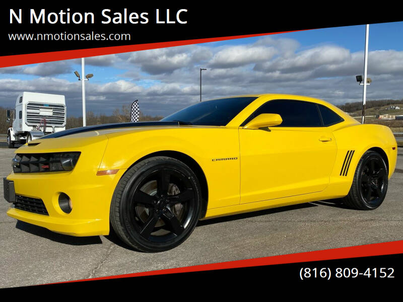 2011 Chevrolet Camaro for sale at N Motion Sales LLC in Odessa MO