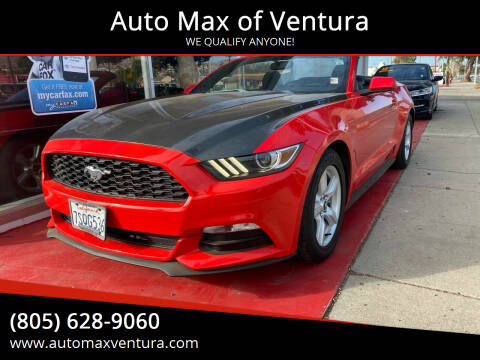 2016 Ford Mustang for sale at Auto Max of Ventura in Ventura CA