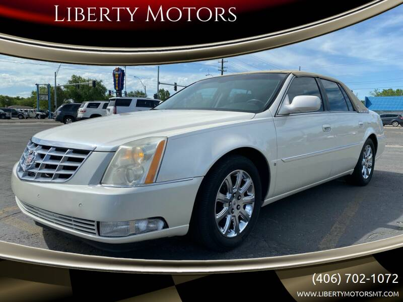 2008 Cadillac DTS for sale at Liberty Motors in Billings MT