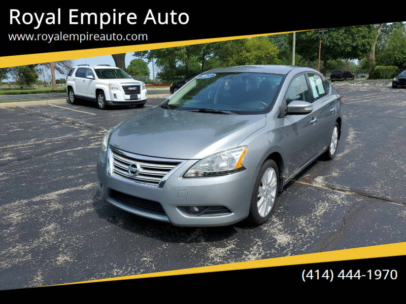2013 Nissan Sentra for sale at Royal Empire Auto in Milwaukee WI