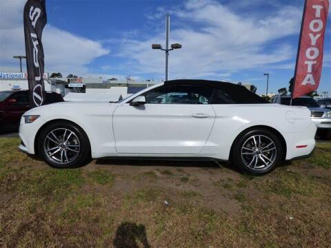 2016 Ford Mustang for sale at National Motors in San Diego CA