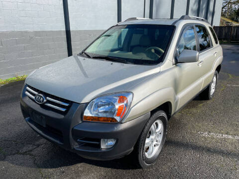 2005 Kia Sportage for sale at APX Auto Brokers in Lynnwood WA