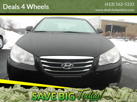 2010 Hyundai Elantra for sale at Deals 4 Wheels in Westfield MA