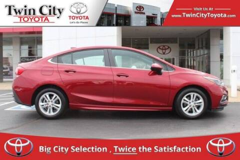 2017 Chevrolet Cruze for sale at Twin City Toyota in Herculaneum MO