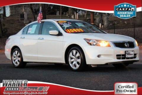 2009 Honda Accord for sale at Warner Motors in East Orange NJ