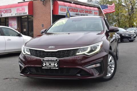 2019 Kia Optima for sale at Foreign Auto Imports in Irvington NJ