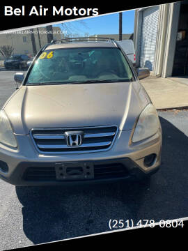 2006 Honda CR-V for sale at Bel Air Motors in Mobile AL