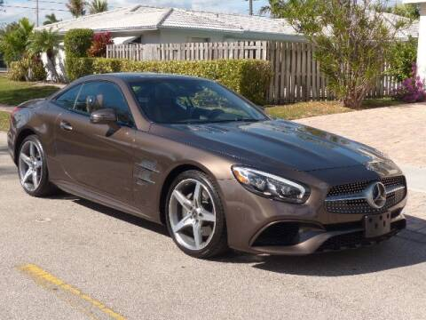2018 Mercedes-Benz SL-Class for sale at Lifetime Automotive Group in Pompano Beach FL