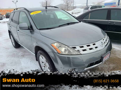 2007 Nissan Murano for sale at Swan Auto in Roscoe IL
