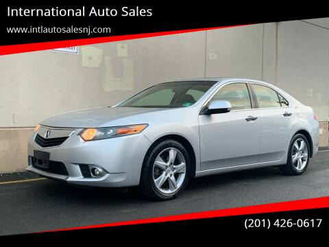 2012 Acura TSX for sale at International Auto Sales in Hasbrouck Heights NJ