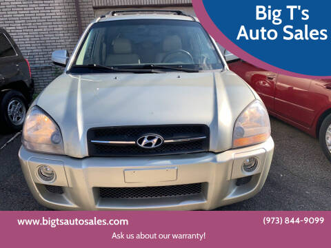 2007 Hyundai Tucson for sale at Big T's Auto Sales in Belleville NJ