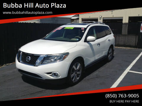 2014 Nissan Pathfinder for sale at Bubba Hill Auto Plaza in Panama City FL