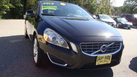 2012 Volvo S60 for sale at Easy Ride Auto Sales Inc in Chester VA