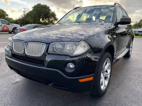 2009 BMW X3 for sale at KD's Auto Sales in Pompano Beach FL