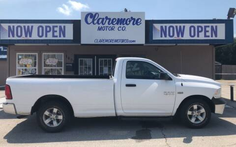 2015 RAM Ram Pickup 1500 for sale at Claremore Motor Company in Claremore OK