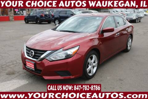 2016 Nissan Altima for sale at Your Choice Autos - Waukegan in Waukegan IL