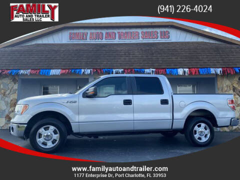 2014 Ford F-150 for sale at Family Auto and Trailer Sales LLC in Port Charlotte FL