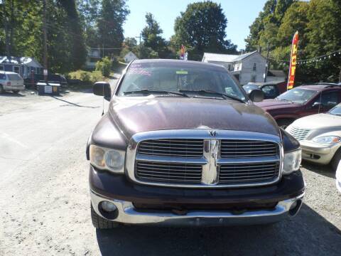 2004 Dodge Ram Pickup 1500 for sale at FERNWOOD AUTO SALES in Nicholson PA