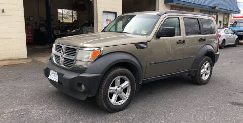 2007 Dodge Nitro for sale at Trax Auto II in Broadway VA