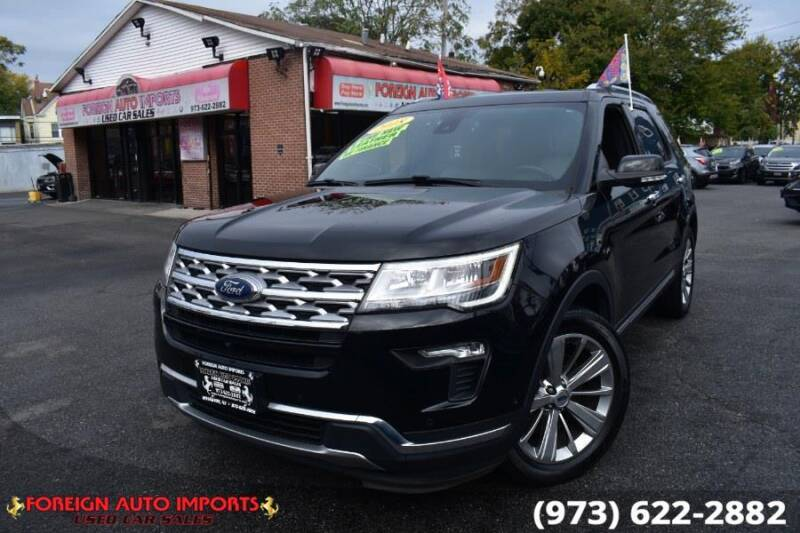 2018 Ford Explorer for sale at www.onlycarsnj.net in Irvington NJ