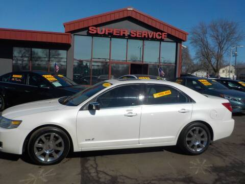 2009 Lincoln MKZ for sale at Super Service Used Cars in Milwaukee WI