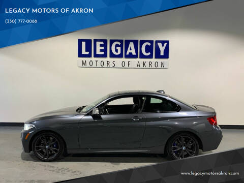 2016 BMW 2 Series for sale at LEGACY MOTORS OF AKRON in Akron OH