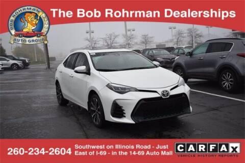 2017 Toyota Corolla for sale at BOB ROHRMAN FORT WAYNE TOYOTA in Fort Wayne IN