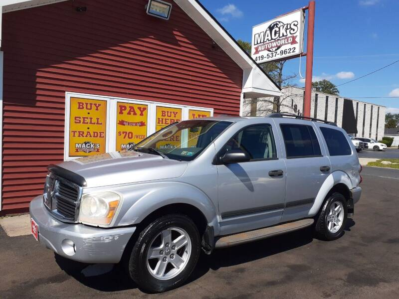 2006 Dodge Durango for sale at Mack's Autoworld in Toledo OH