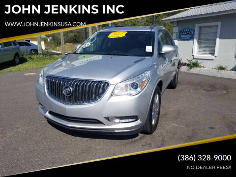 2017 Buick Enclave for sale at JOHN JENKINS INC in Palatka FL
