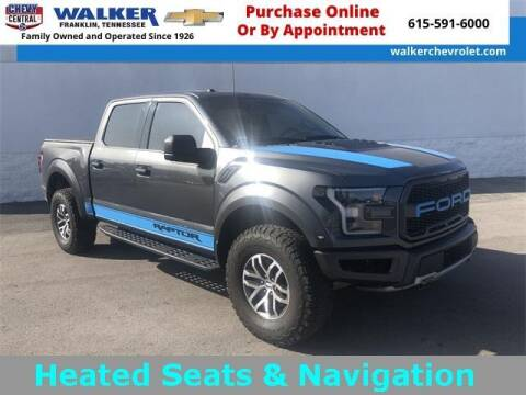 2018 Ford F-150 for sale at WALKER CHEVROLET in Franklin TN