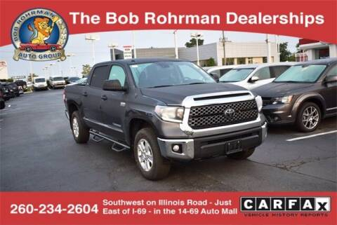2018 Toyota Tundra for sale at BOB ROHRMAN FORT WAYNE TOYOTA in Fort Wayne IN