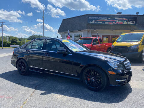 2013 Mercedes-Benz C-Class for sale at Maple Street Auto Center in Marlborough MA