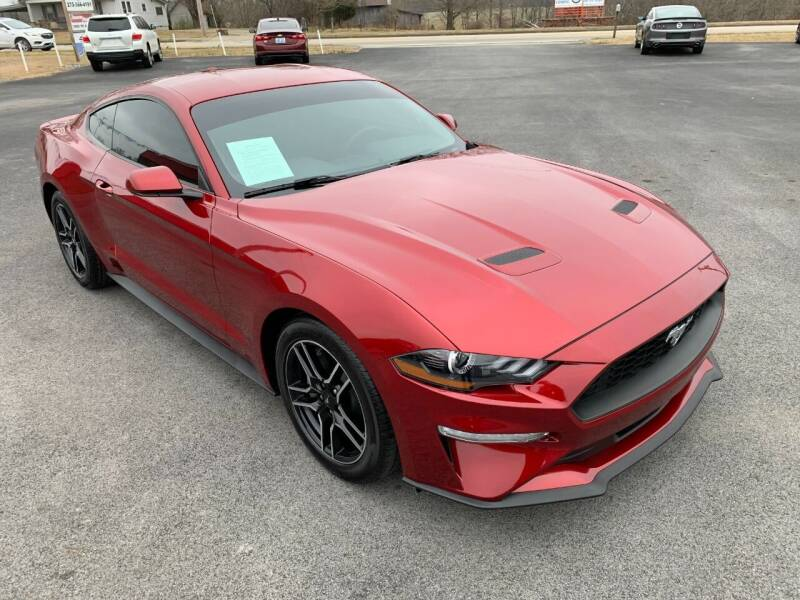 2019 Ford Mustang for sale at Hillside Motors in Jamestown KY