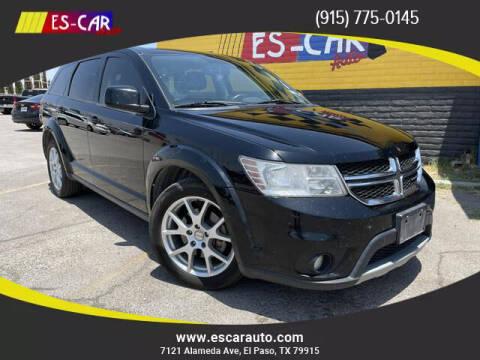 2014 Dodge Journey for sale at Escar Auto - 9809 Montana Ave Lot in El Paso TX
