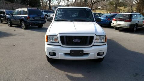 2004 Ford Ranger for sale at DISCOUNT AUTO SALES in Johnson City TN