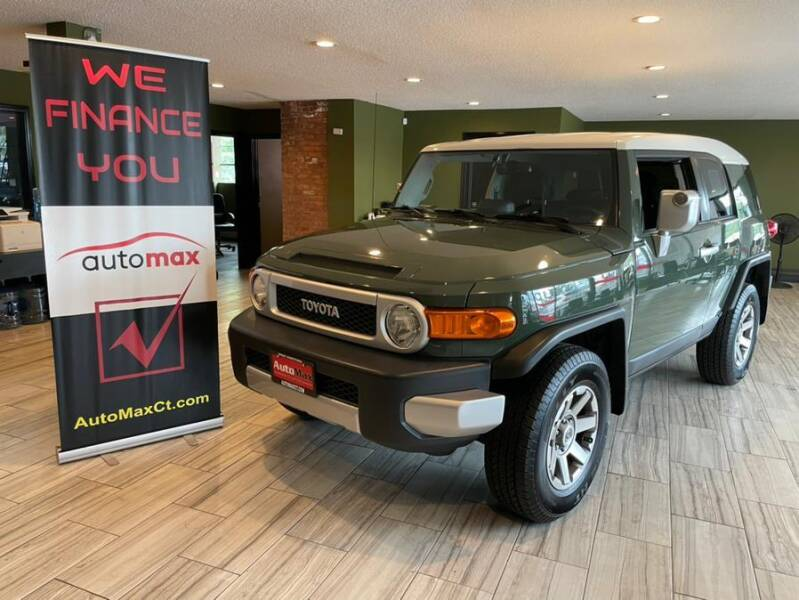 2012 Toyota FJ Cruiser for sale at AutoMax in West Hartford CT