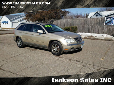 2007 Chrysler Pacifica for sale at Isakson Sales INC in Waite Park MN