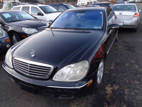 2002 Mercedes-Benz S-Class for sale at All State Auto Sales in Morrisville PA