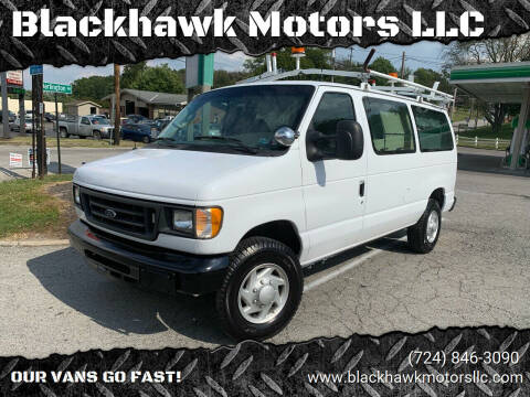 2007 Ford E-Series Cargo for sale at Blackhawk Motors LLC in Beaver Falls PA