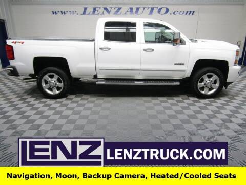 2019 Chevrolet Silverado 2500HD for sale at LENZ TRUCK CENTER in Fond Du Lac WI